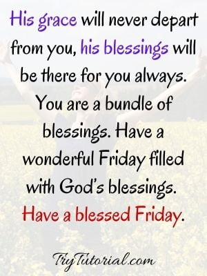 40+ Powerful Friday Blessings And Prayers Quotes To Start Your Day Images [currentyear] 1