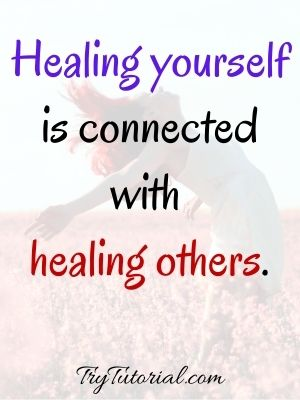 Heal Yourself First Quotes