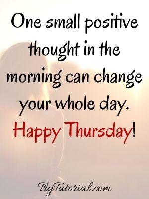 Inspiring Good Morning Thankful Thursday