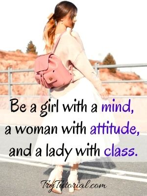 One Line Short Confidence Quotes For Women