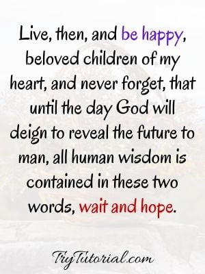 Positive Bible Quotes About Hope