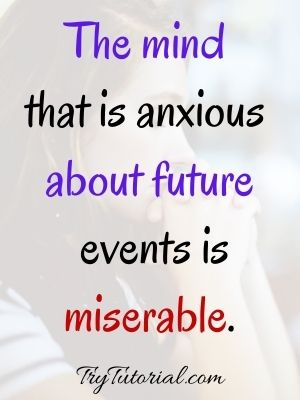 Spiritual Quotes About Worry Images