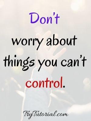 Spiritual Worry Quotes