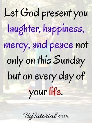 Sunday Blessings Morning Quotes