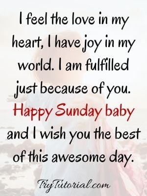 Sunday Wishes & Quotes For Her