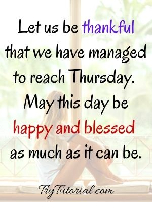 Thankful Thursday Morning Blessings Images