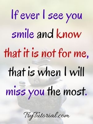 Thinking And Missing You Quotes For Her