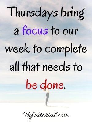 Thursday Good Morning Blessing Image