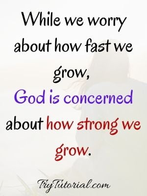 Worry And God Quotes