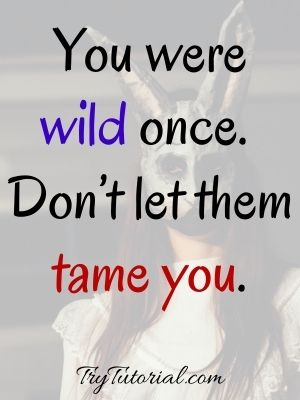 You Are An Amazing Wild Woman Quotes