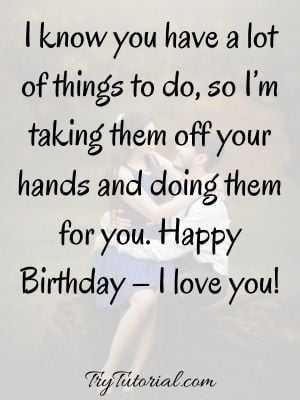 Awesome Love Quotes For Wife Birthday