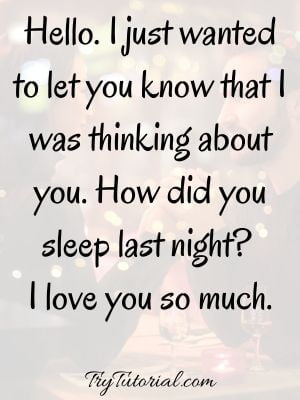 Beautiful Good Morning Love Quotes For Him