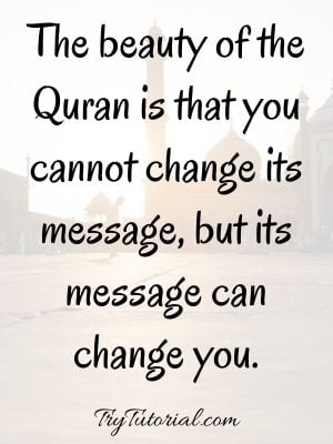 Beautiful Religious Quotes  On Islam