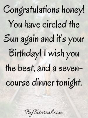 Birthday Love Quotes For Wife