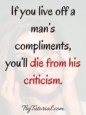 Bold Quotes On Woman Confidence