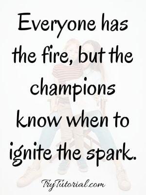 Champion Heart Quotes