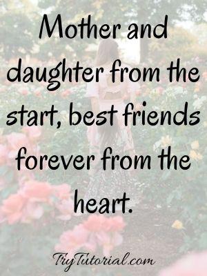 Cute Daughter Mother Sayings