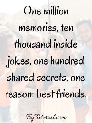 Endless Friendship Quotes About Friends