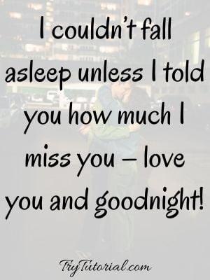 Good Night Message For Boyfriend
