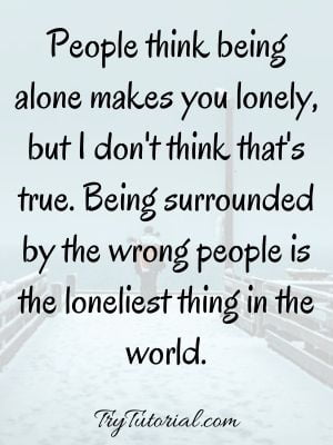 You Are Not Alone Inspirational