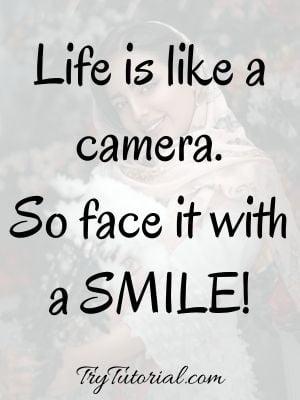 Happy Selfies Status