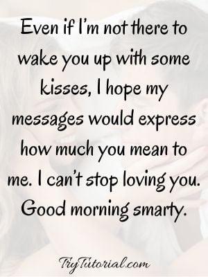 Heartfelt Good Morning Messages For Him