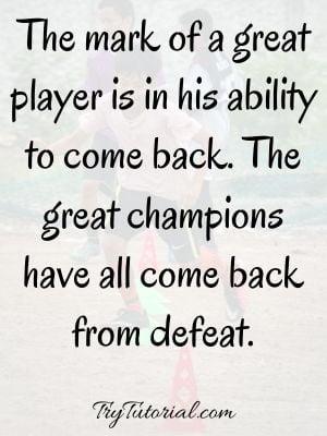 Inspirational Champion Quotes