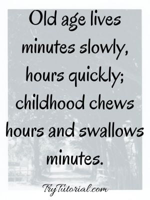 Inspirational Childhood Captions