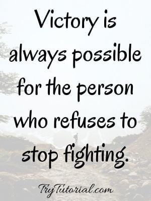 Inspirational Fighting Spirit Quotes