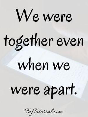 Inspirational Long Distance Relationship Images