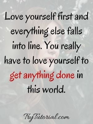 Inspirational Love Yourself Self Worth Quotes