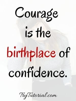 Inspirational Self Confidence Images