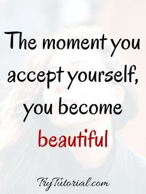 Inspirational Self Love Quotes For Girls