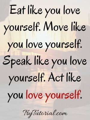Inspirational Self Love Quotes For Women