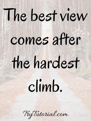 Inspirational Trekking  Quotes