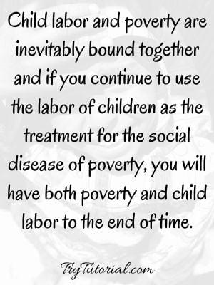 Inspiring Child Labour Quotes