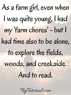 Little Country Girl Quotes