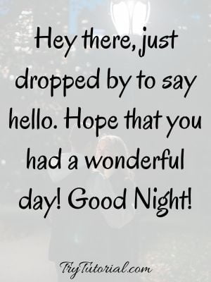 Long Distance Good Night Message For Him