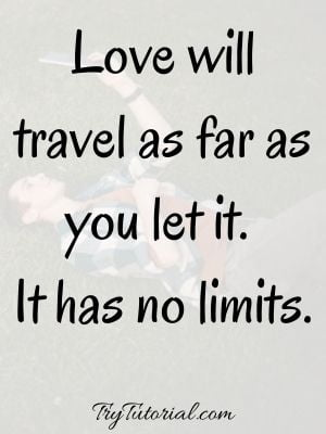 Long Distance Relationship Cute Quotes