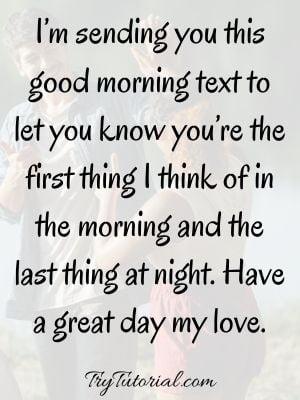 Mind-Blowing Good Morning Text To Make Him Smile