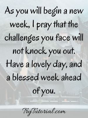 Monday Blessings And Prayers