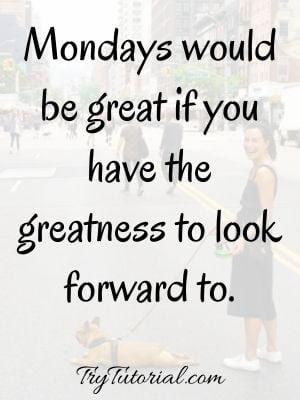 Monday Blessings For Good Morning