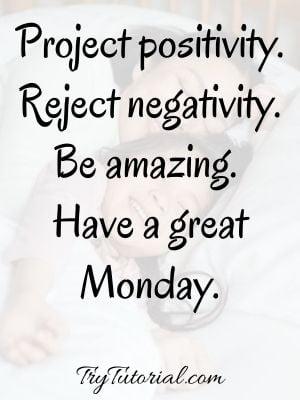Monday Blessings For Morning