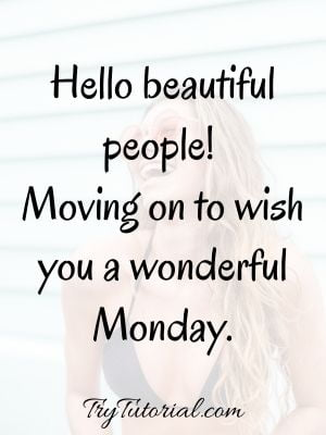 Monday Inspirational Blessings