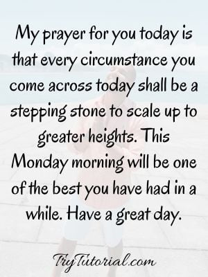 Monday Prayers And Blessings