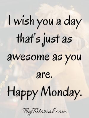 Morning Monday Blessings