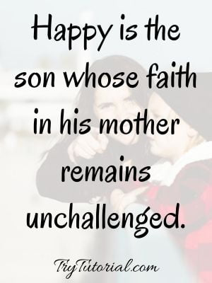 Mother Son Relationship Quotes On Bonding