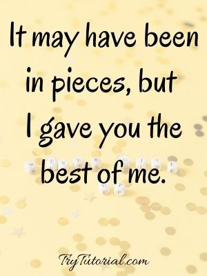 Motivational The Best Of Me Movie Quotes