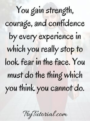 Popular Quotes On Self Confidence