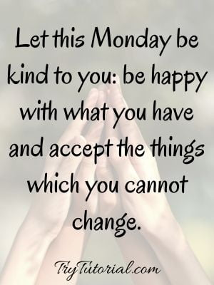 Positive Monday Blessings Image